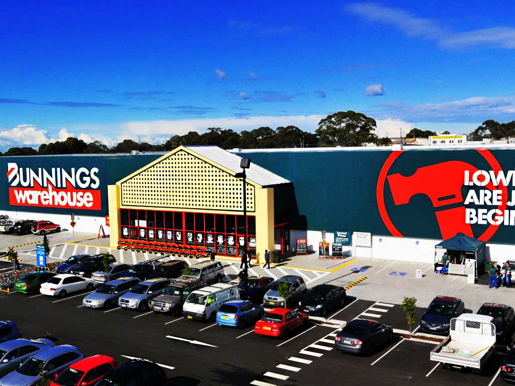 Bunnings Warehouse - Multiblast Flooring