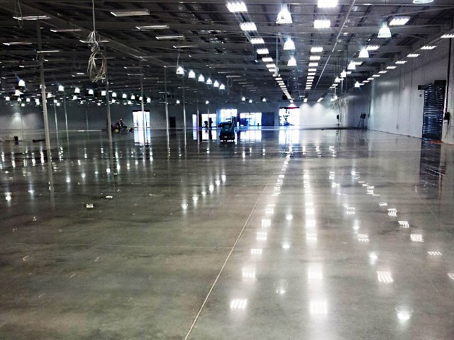 Bunnings Warehouse Polished Concrete Amp Ashford Formula