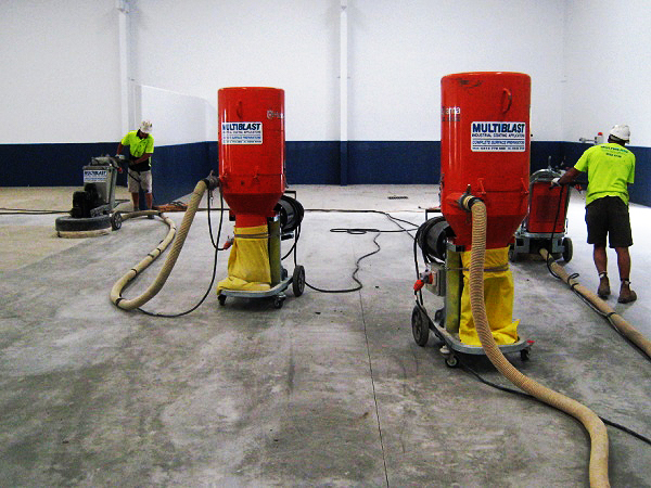 Commercial diamond grinding floors in Brisbane