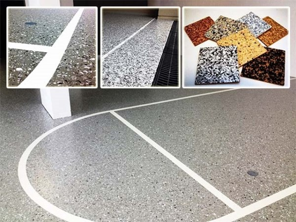 Flake flooring professionals in Brisbane and Gold Coast