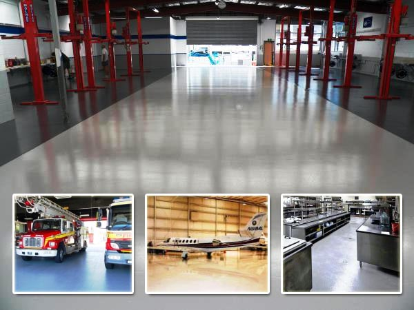 Industrial floor coating jobs by Multiblast in Brisbane and Gold Coast