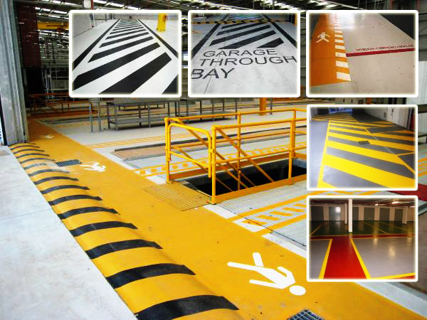 Line marking Brisbane and Gold Coast